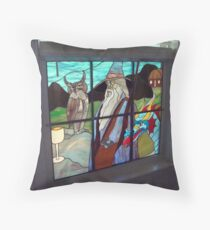 Endor and Friends in Glass Throw Pillow