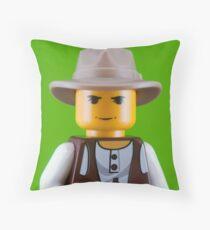 Joseph Beuys Portrait Throw Pillow
