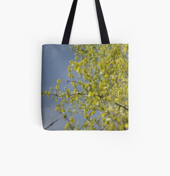 Spring cottonwood All Over Print Tote Bag