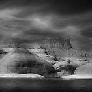 Lake Powell B/W by Steve  Taylor