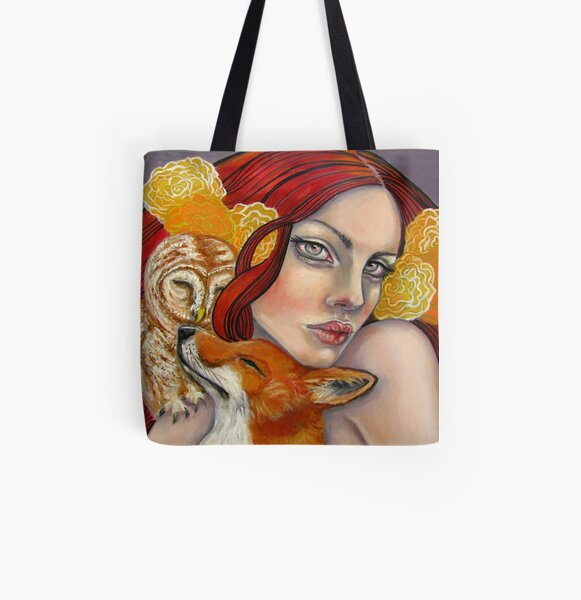 Shelter from the Storm All Over Print Tote Bag
