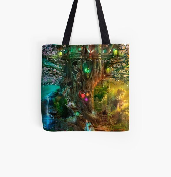 The Dreaming Tree All Over Print Tote Bag