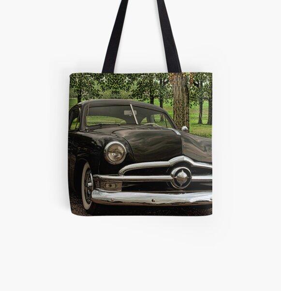 1950 Ford Custom All Over Print Tote Bag