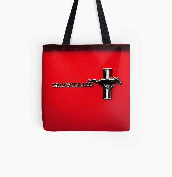 Mustang All Over Print Tote Bag