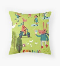 Spring time! Throw Pillow