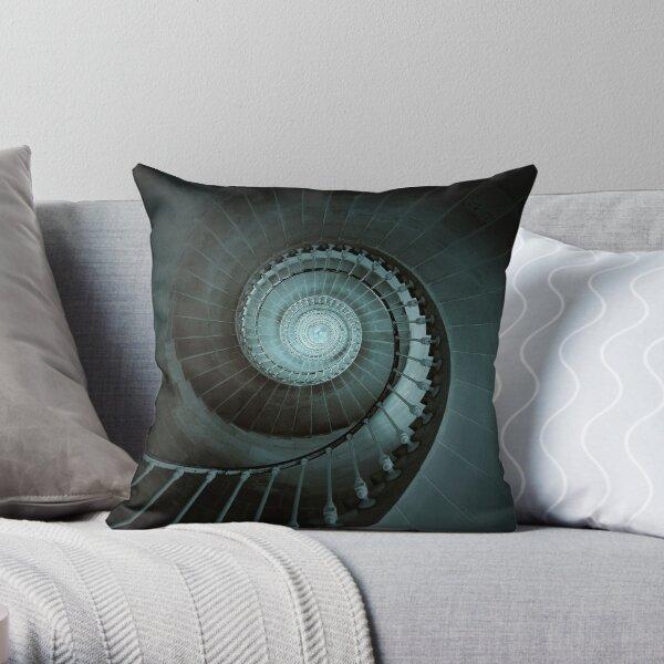 Phare Des Baleines Throw Pillow