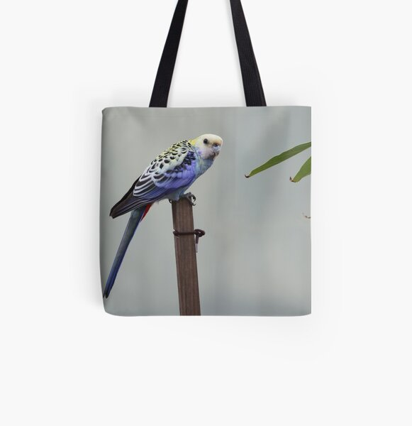 Pale-headed rosella All Over Print Tote Bag