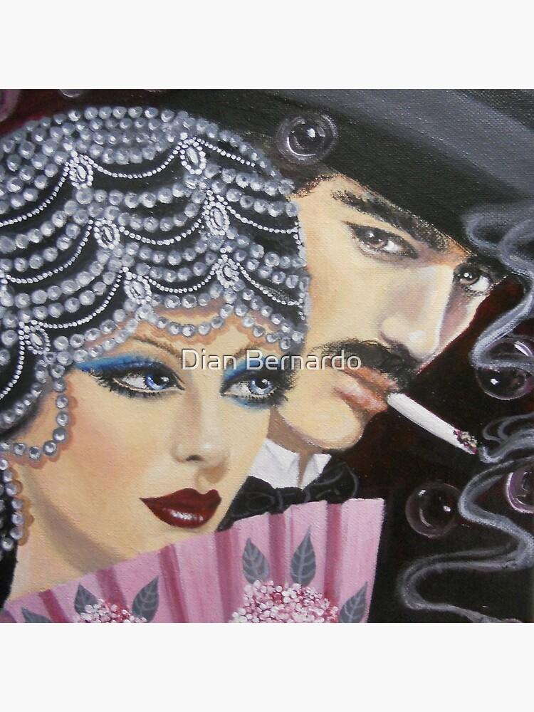 ART DECO COUPLE von ilirianna