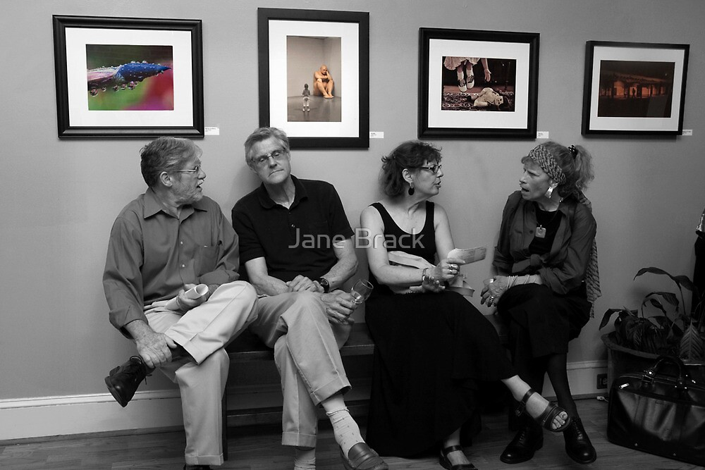 The Discussion by Jane Brack