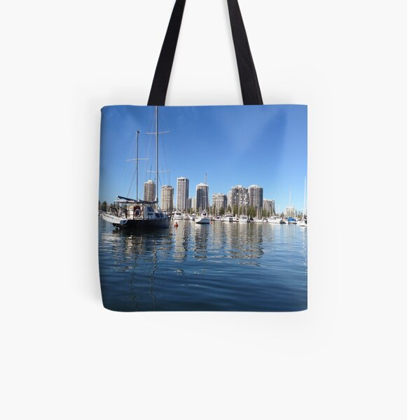 Great day out fishing All Over Print Tote Bag