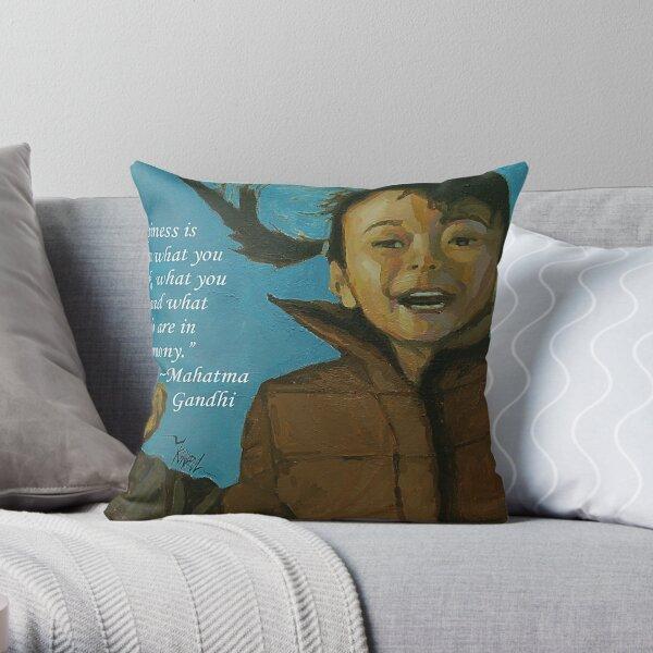 Rahil - Quotes Throw Pillow