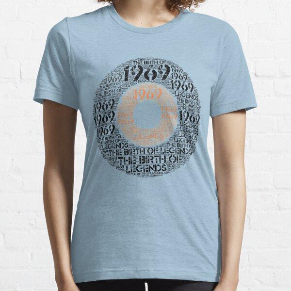 Born 1969 - Legends 50th Birthday T-Shirt - Vinyl Design Essential T-Shirt