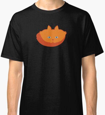 Solid Bright Orange Cat Cattern [Cat Pattern] Classic T-Shirt