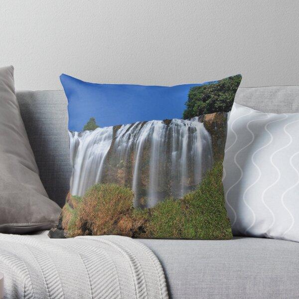 Elephant Waterfall 2 Throw Pillow