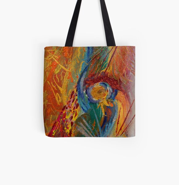 Abstract Painting 1 All Over Print Tote Bag