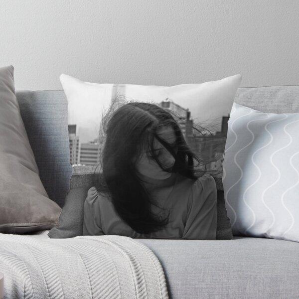 Feminin[c]ity - Hong Kong Throw Pillow