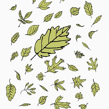 Leaves by barneda