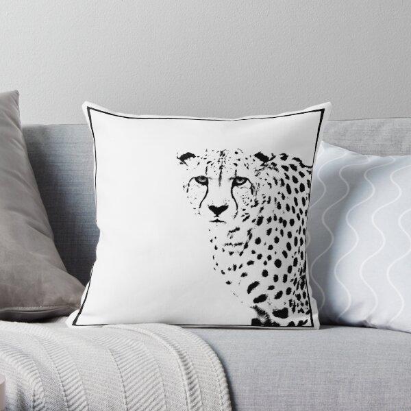 Cheetah Throw Pillow