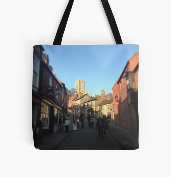 Steep Hill, Lincoln All Over Print Tote Bag