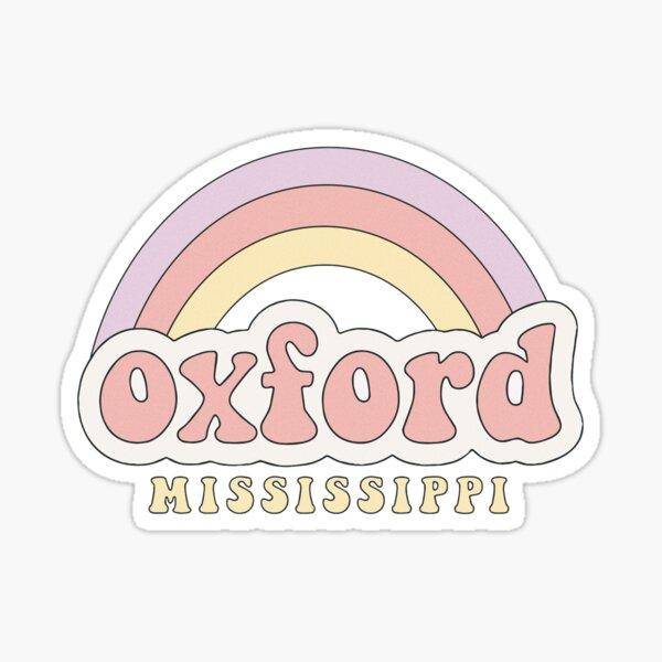 Hippie Oxford Sticker
