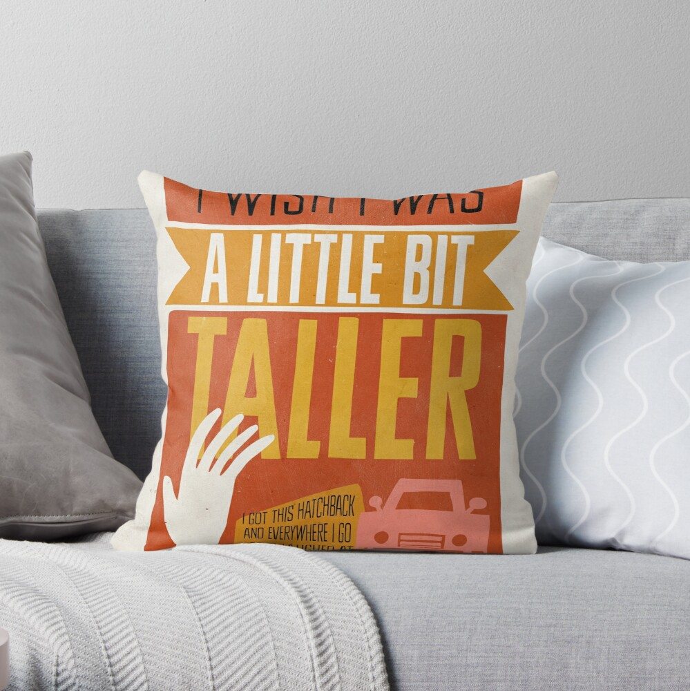I Wish... Throw Pillow