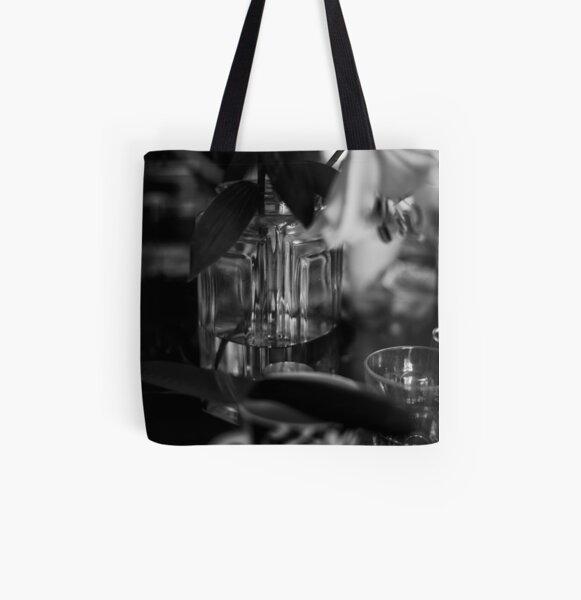 Food and Light All Over Print Tote Bag