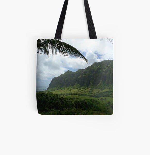 Kualoa Ranch - Oahu, HI All Over Print Tote Bag