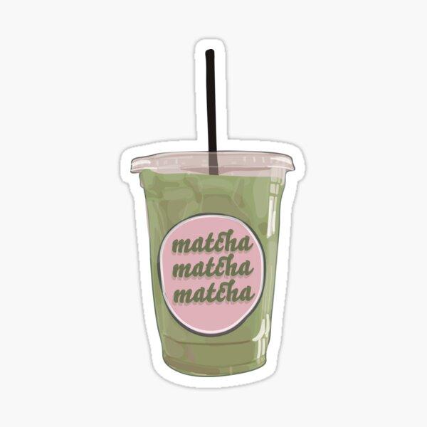 Iced Matcha Latte Sticker
