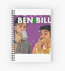Ben & Bill - Hot Dogs and Coffee Spiral Notebook