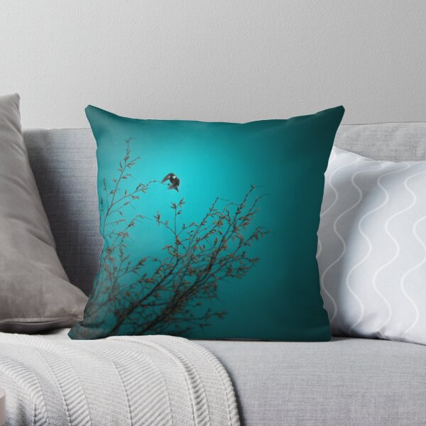 sparrow (002)  Throw Pillow