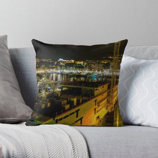 monaco (002)  Throw Pillow