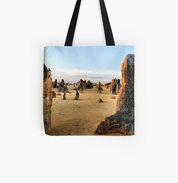 Close of Day - Pinnacles Western Australia All Over Print Tote Bag