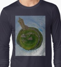 Glencolmcille Church - Sky Out Long Sleeve T-Shirt