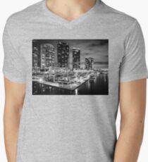 Docklands , Melbourne  Men's V-Neck T-Shirt