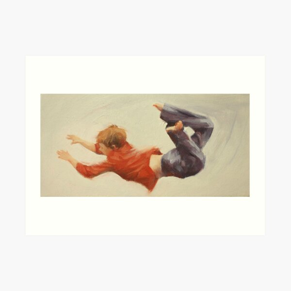 Trampoline Boy Part 1 Art Print