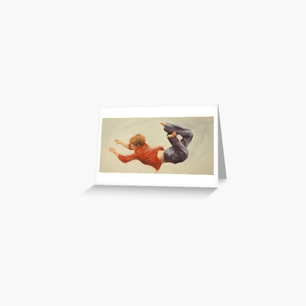 Trampoline Boy Part 1 Greeting Card