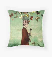 Free your mind! Throw Pillow