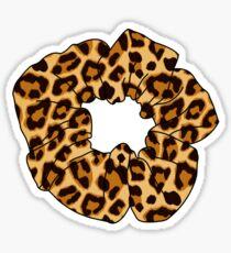 Leopard Scrunchie Sticker
