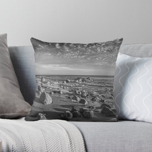 Malibu Untitled Throw Pillow