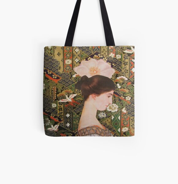 Thoughts Abloom All Over Print Tote Bag