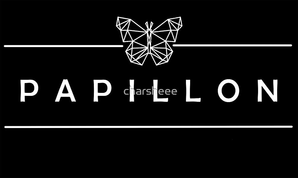 Team Wang - Papillon Rechteck Logo von charsheee