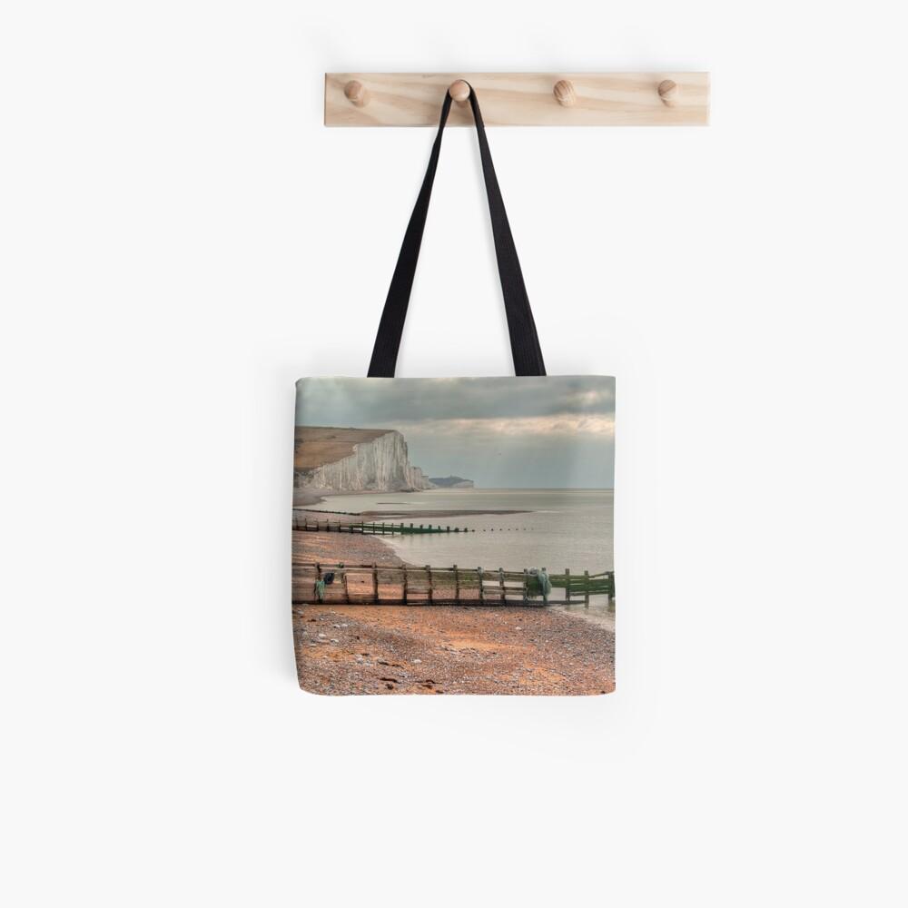 Seaford Head Beach Tote Bag