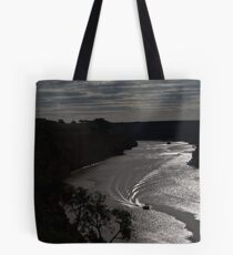 By the light.................. Tote Bag