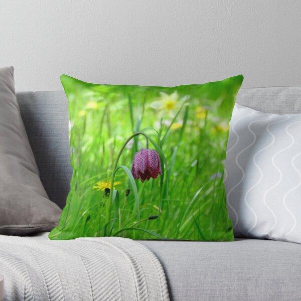 Springtime at Batemans Throw Pillow