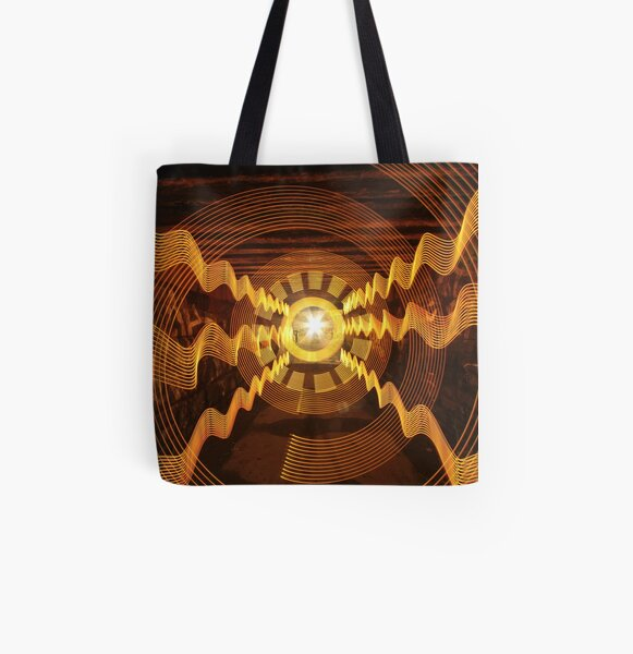 Under the railway line All Over Print Tote Bag