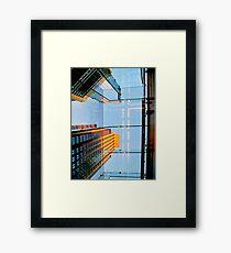 The Cross Lights Framed Print