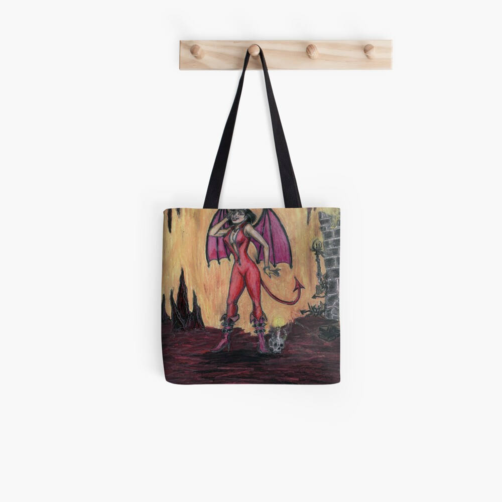 Aosoth - Sexy Devil Girl Tote Bag
