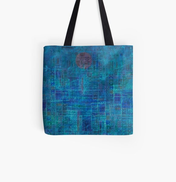 The Last Tree in the City  All Over Print Tote Bag