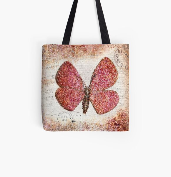 Free like a butterfly All Over Print Tote Bag