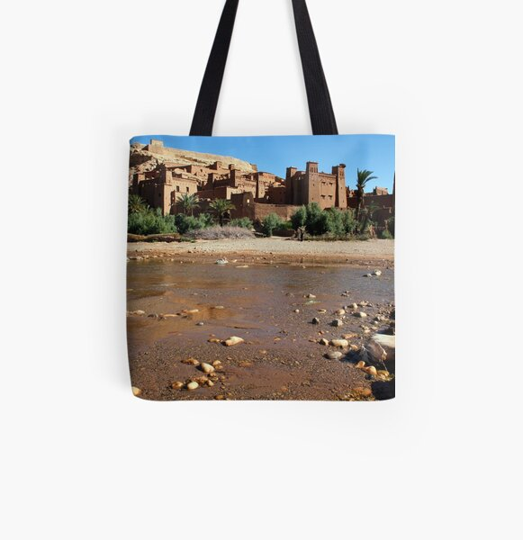 Kasbah in Skoura Morocco All Over Print Tote Bag
